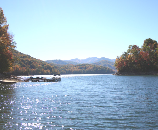 Nantahala Lake Vacation Rental 2 Miles From Lakes End